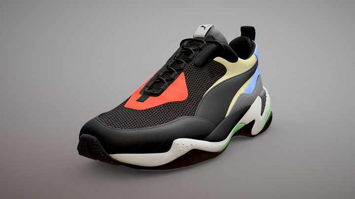 Puma Thunder Spectra - 2018 New shoes 3D Model