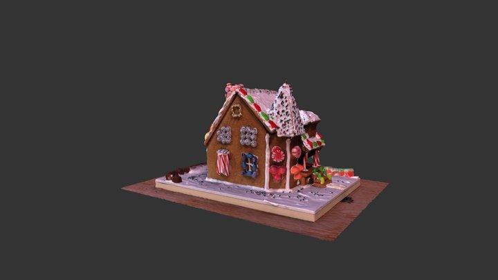 gingerbread 3D 3D Model