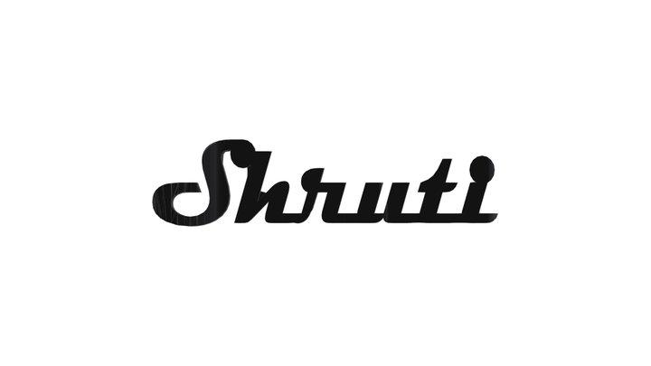 Shruti Jesus -Twop Names 3D Model