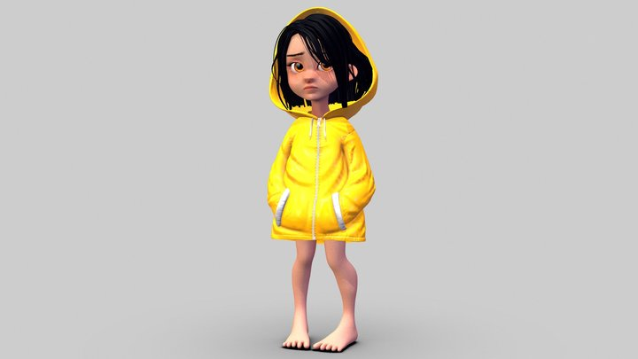 Irlin Ersode // concept by @julspicassito 3D Model