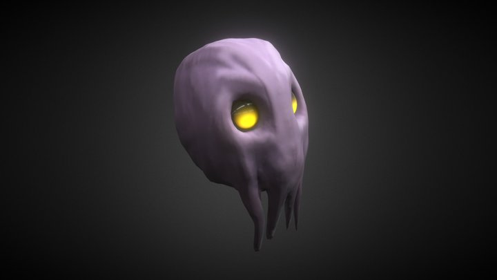 Cthulhu Mindflayer Sculpting Practice 3D Model