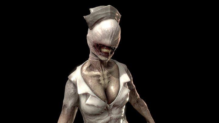 Bubble Head Nurse 3D Model