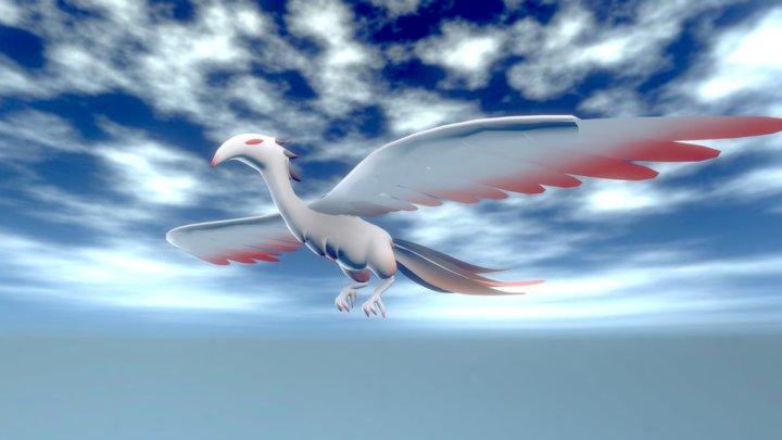 The White Phoenix 3D Model