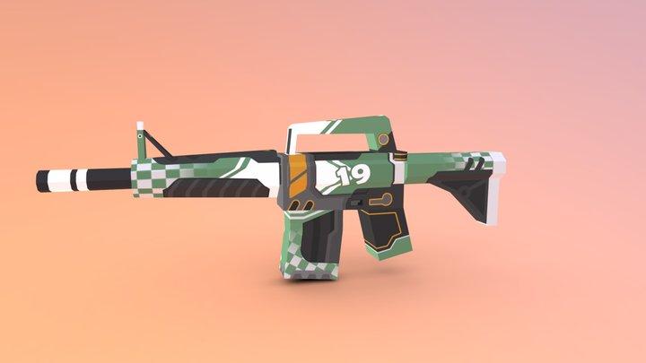 Maplestrike l Mint Exhaust 3D Model