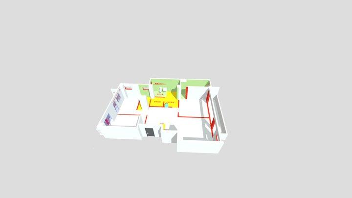 1001 3D Model
