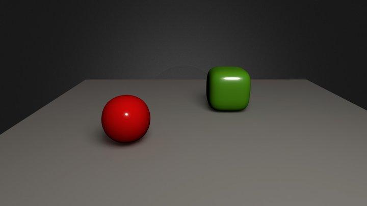Test-Blender 3D Model