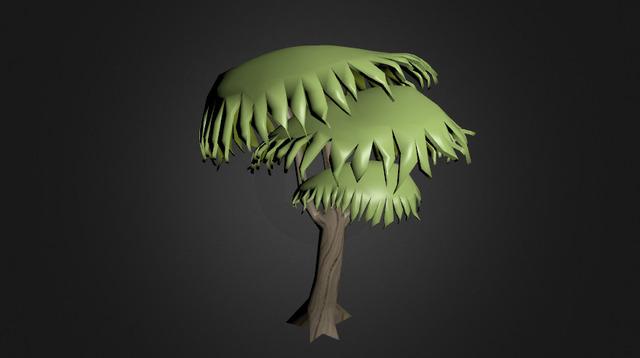 new palm  tree 3D Model