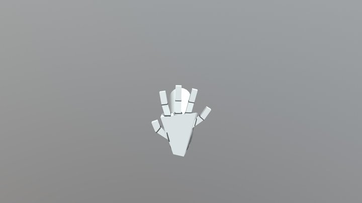 Arm With Hand 3D Model