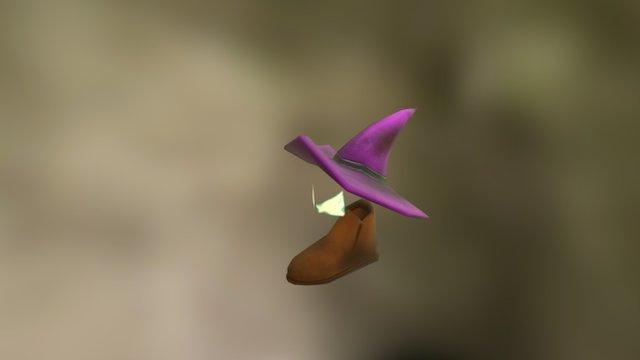 FGJ Boot Character 3D Model