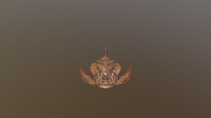 Bothriolepis Canadensis 3D Model