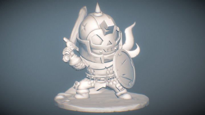 Skull Kid Doug Silva 3D Model