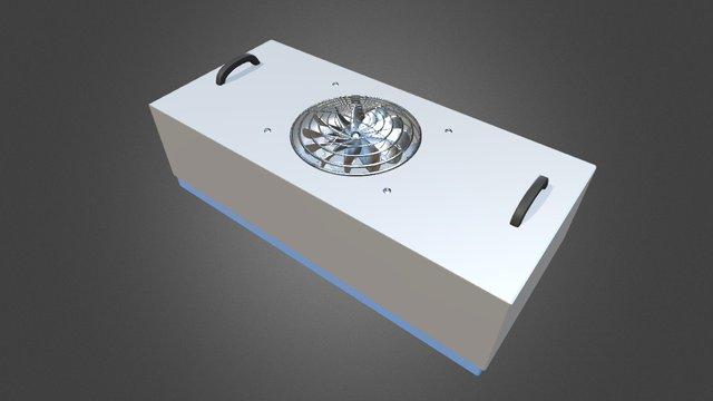 MCRT Fan Filter Unit 3D Model