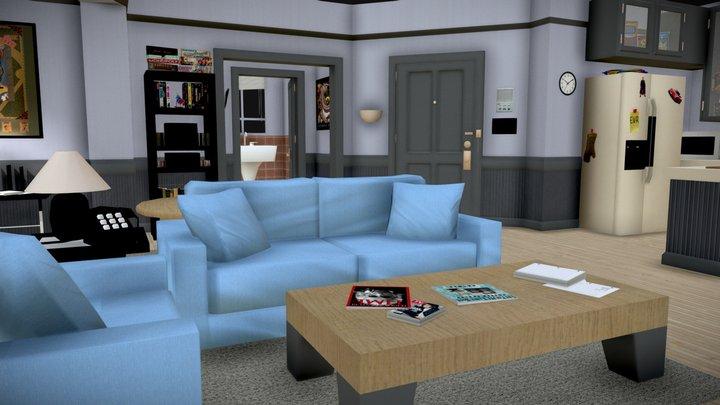 Seinfeld Apartment 3D Model