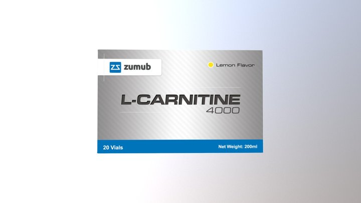 Zumub L-Carnitine 3D Model