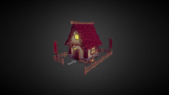 RTS House 3D Model