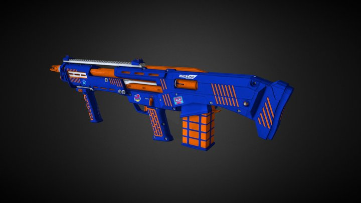 Z-Strike HZ12 3D Model