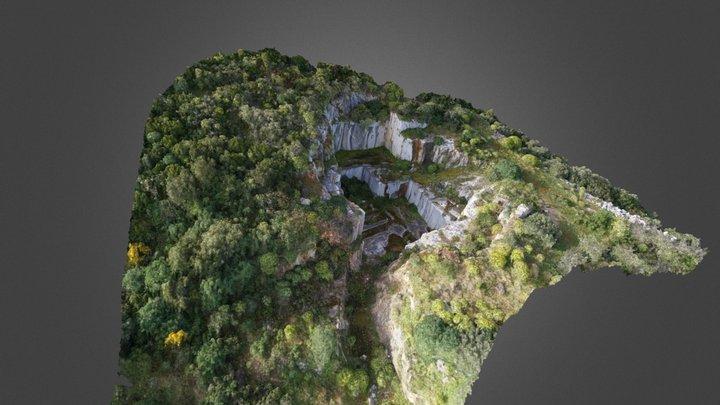 Nuxis - Quarry - Sardinia 3D Model