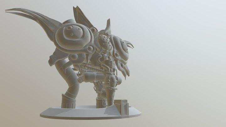Mammon Machine 3D Model