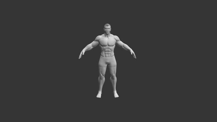 Base Male Critique Request 3D Model