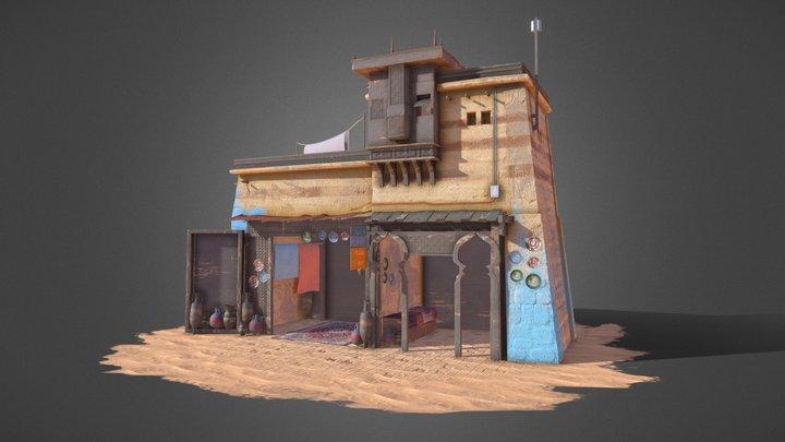 Moroccan house 3D 3D Model