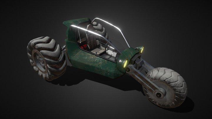 Buggy HCR 3D Model