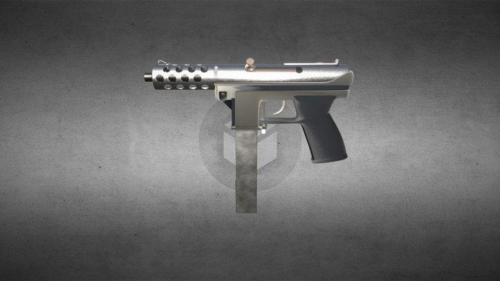 Weapon Tec 9 3D Model