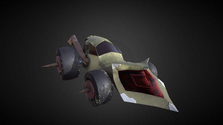 Coche Depredador 3D Model