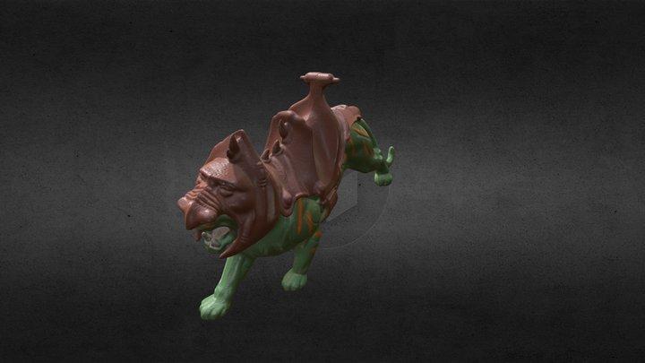 Battle Cat 3D Model