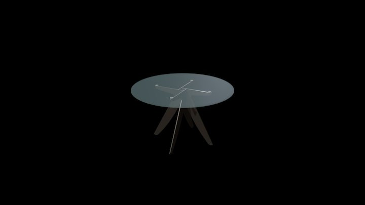 Ring Round Table 3D Model