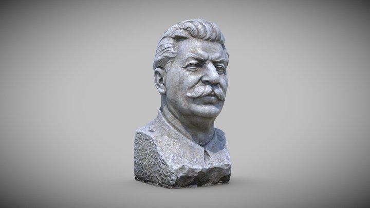 Statue Stalin 3D Model