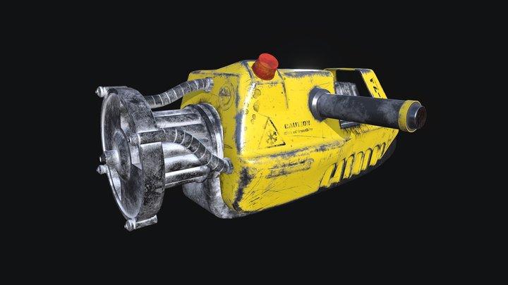 Freezethrower 3D Model