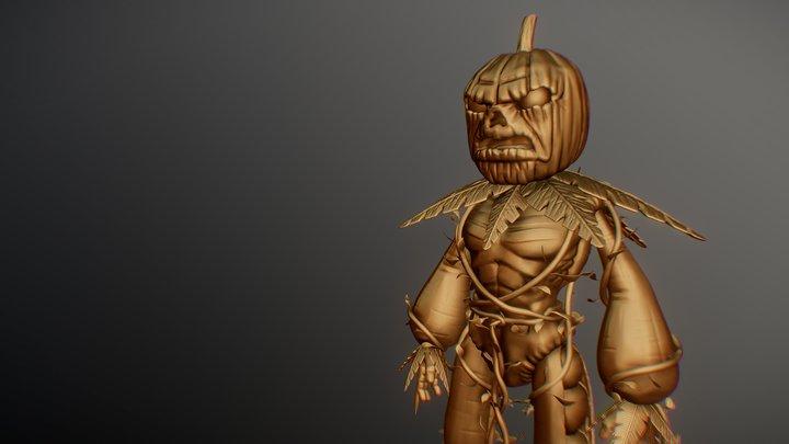 Leguman ZBrush Version 3D Model