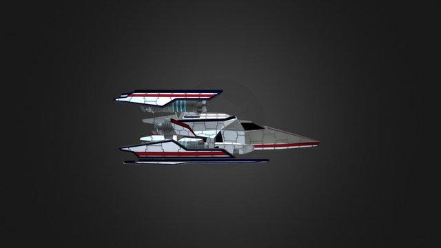 Class 3 Heavy Fighter: Unicorn 3D Model