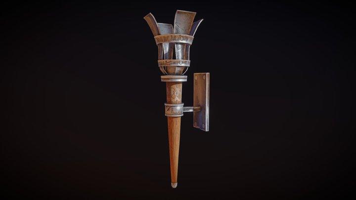 Torch V2 3D Model