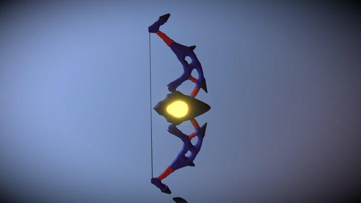 Arco Blender/Bow Low Poly Made in Blender 3D Model