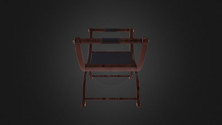 Roman seat 3D Model