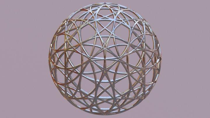 Atom Step20 3d 4d 6d 15d 10d Matter 3D Model
