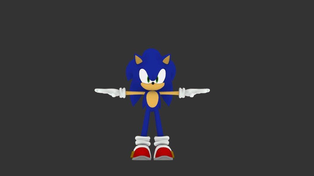 Modern Sonic Sonic Unleashed Xbox 360 3d Model By R2d2dude12 R2d2dude12 Fdd2b6b Sketchfab
