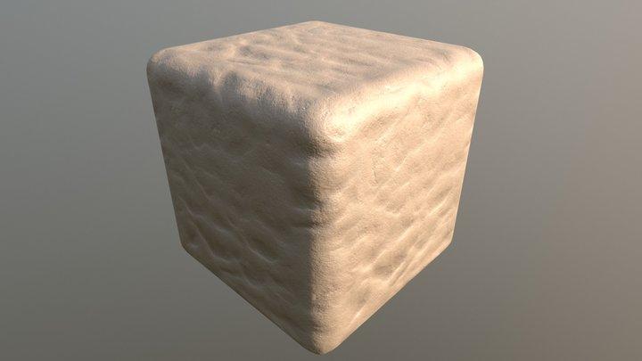 Tiled PBR material  - Sand 3D Model