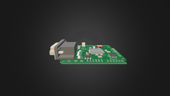 gameduino 3D Model