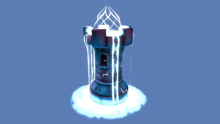 Magical Tower 3D Model