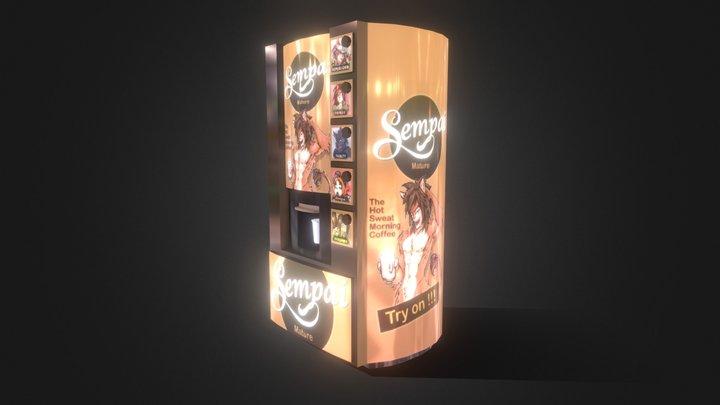 Sempai Coffee machine 3D Model