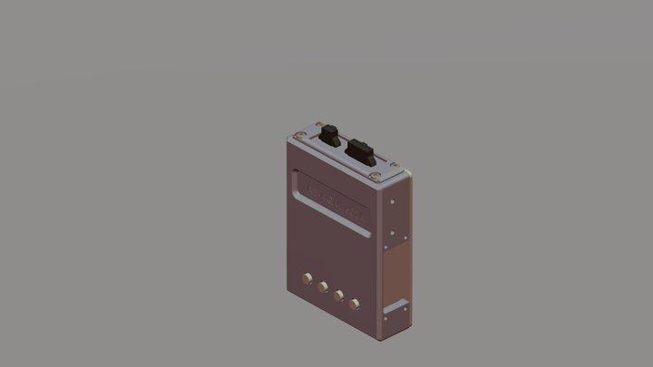制御マイコンユニット 3D Model