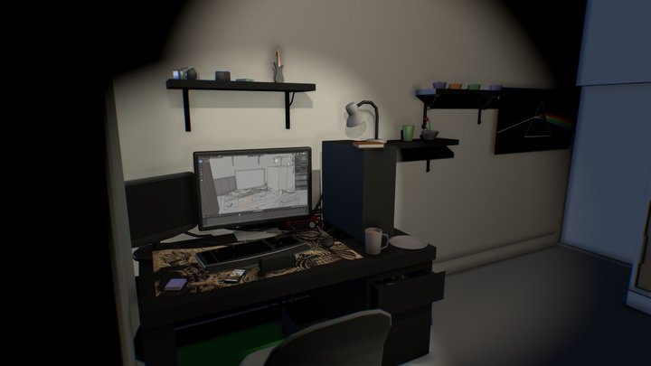 My room 3D Model