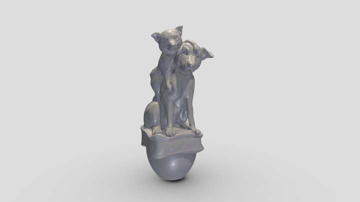 Brooke- Splinter 3D Model