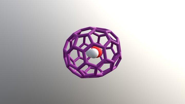 Water In C70 3D Model