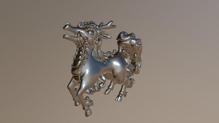 Qilin 2 3D Model