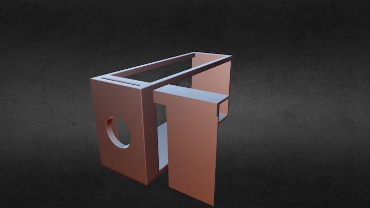 Tsetse Cage 4 3D Model