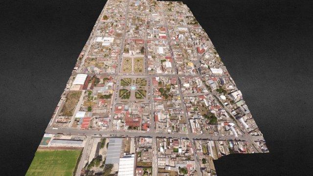 Apan, Hidalgo. 3D Model