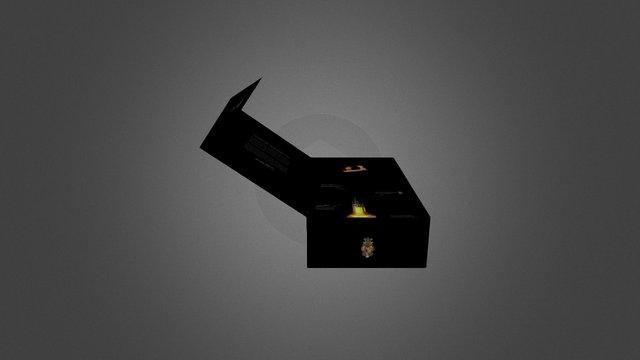 Box Licor 43 3D Model